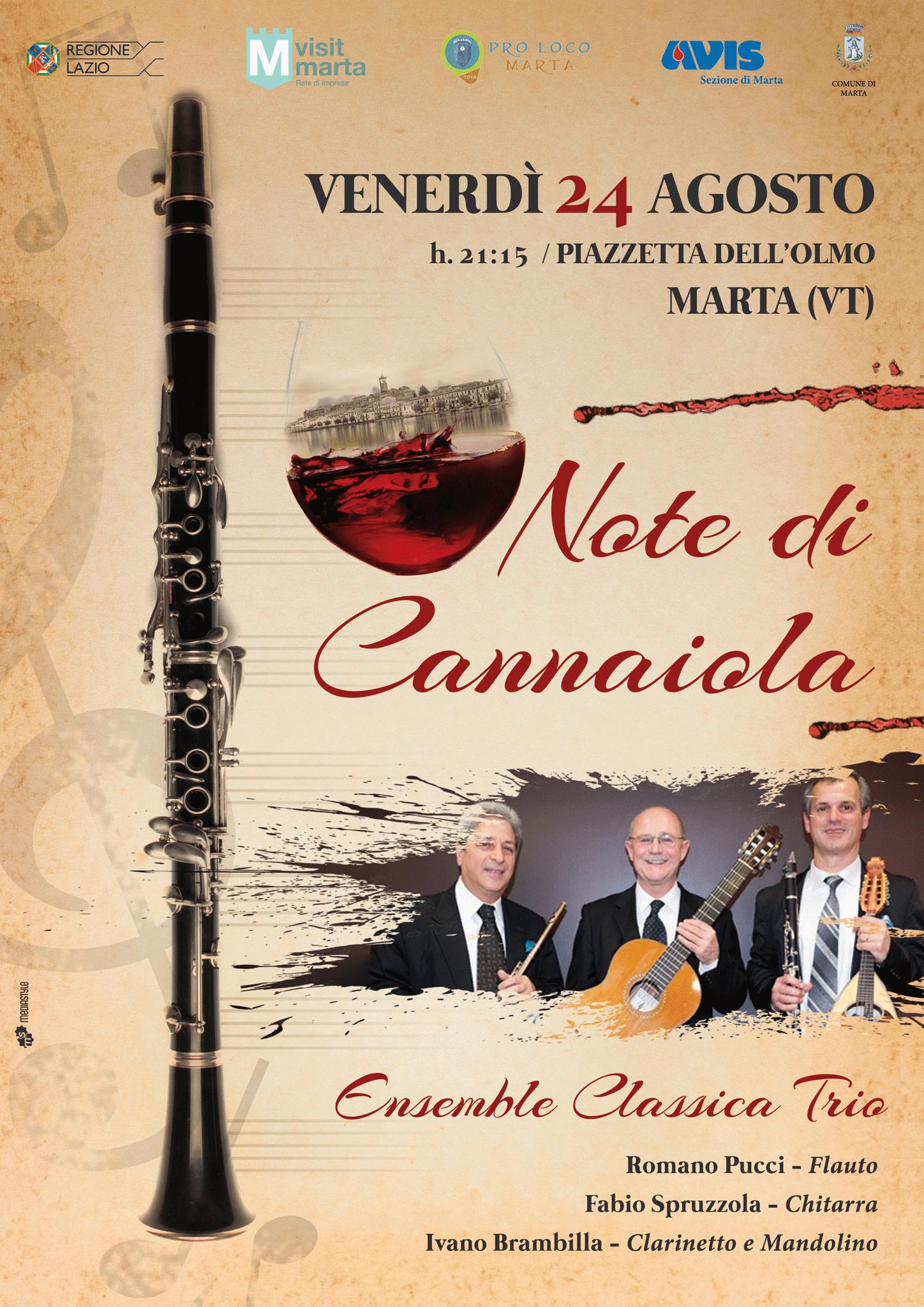 Ensemble Classic Trio - 24 Agosto 2018