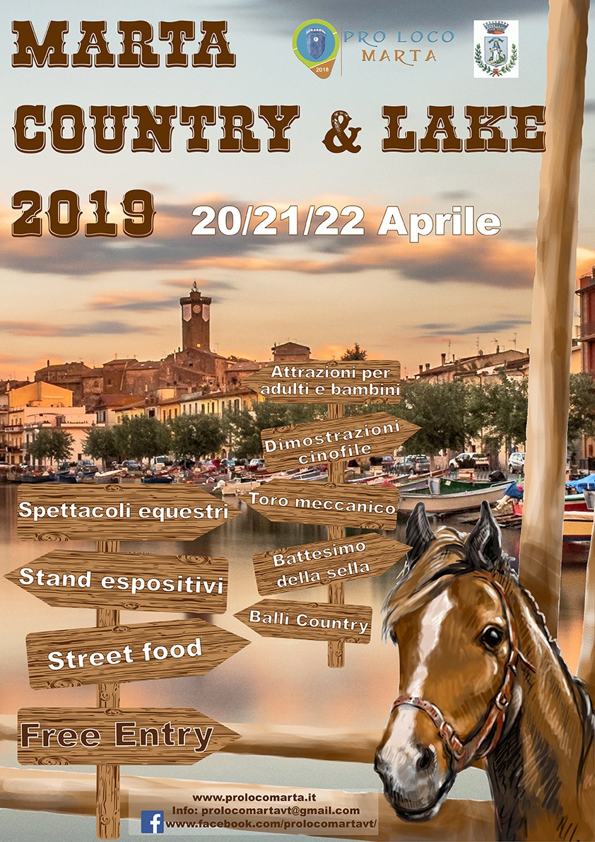 Pasqua e Pasquetta 2019: Marta Country e Lake