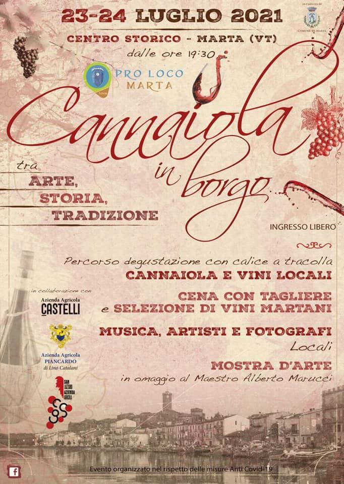 Cannaiola in Borgo 2021